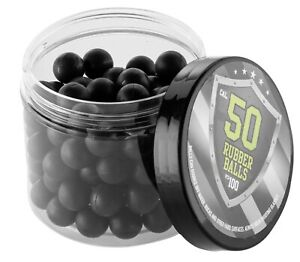 100x Hard Rubber Balls Paintballs Training Shooting Reballs 50 Cal. HDR RAM T4E