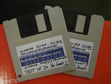 YAMAHA SY-77 SY99 720 K° Floppy Disk BEST OF DX 500 Sounds on SY floppy format