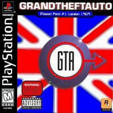 Grand Theft Auto London Mission Pack - PS1 PS2