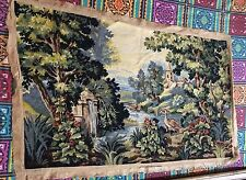 Handmade French Design Original Needlepoint Tapestry Wool 86 by133 cm