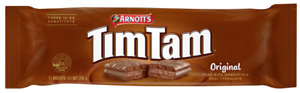 Arnott's TIM TAMS ORIGINAL - Made in Australia. 11 biscuits
