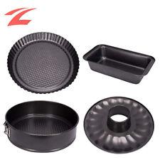 Backformen Set Kuchenform Set 4-tlg Unterschiedliche Formen Antihaft Blech