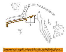 VW VOLKSWAGEN OEM Cabrio Hydraulic-Convertible/soft Top-Pressure Line 1E0871794A