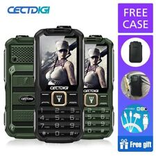 GSM Mobile Cell Phone Dual SIM Shockproof Radio 15800mAh Power Bank Flashlight