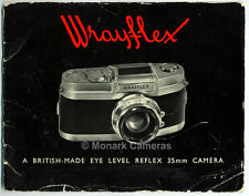 Wrayflex I Camera & Lens Sales Brochure More. Catalogues Manuals & Books Listed