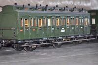 """3,5 """" Zoll Abteilwagen 80 cm lang Metallmodell Einzelstück siehe Fotos."""