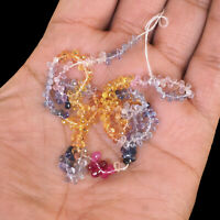 289 Pcs Natural Sapphire Briolettes Finest Multi-Color Drilled Gems Sri Lanka
