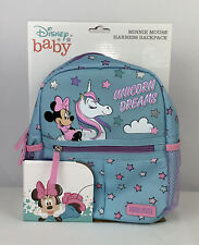 Disney Baby Minnie Mouse Unicorn Harness Backpack New