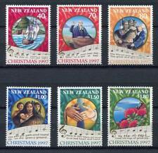 34719) New Zealand 1997 MNH Christmas 6v