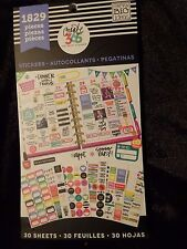CREATE 365 Happy Planner STICKER BOOK 1829 pcs PRACTICAL,FITBIT,TO DO,REMINDERS