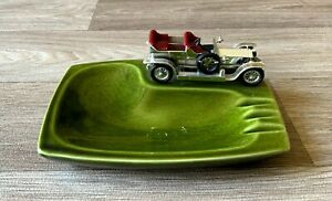 Vintage Die Cast Car Ash Tray Lesney Never Used Immaculate