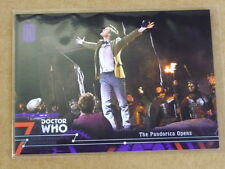 2016 Topps DOCTOR WHO THE PANDORICA OPENS PURPLE PARALLEL /50 #85 E2194