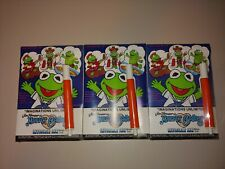 3 Vintage Invisible Ink Pen & Painting Book Jim Henson'S Muppet Babies New Lot