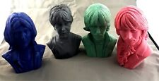 Vintage / Resin Model Kit / Fab Four Set of 4 Bust / Rare / OOP / Nice