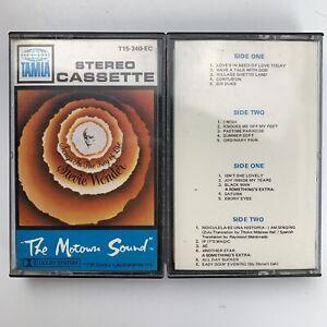 Stevie Wonder Songs in The Key of Life Vol 1 & 2 (Cassette, 2 Tapes)