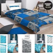 Licenced Fortnite Cotton Reversible Duvet Cover & Pillowcase Bedding Quilt Set