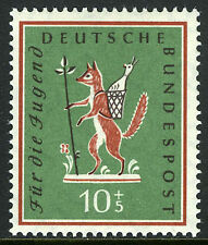 Germany B360, MNH. Fairy Tales. The Fox, who Stole the Goose, 1958