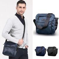 2 Szs Water Resistant Small Mini Nylon Single Shoulder Bag Crossbody bag Purse
