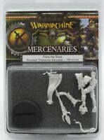 Warmachine PIP41110 Mercenaries Fiona The Black Privateer Warcaster Female Hero