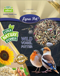 25 kg Streufutter Vogelfutter Vögel Körner Mischfutter Lyra Pet® HK Deutschland