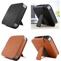 PU Leather Stand Holder Protective Case Cover for 2018 APPLE Mac Mini Desktop