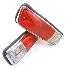 DATSUN 1300 520 521 TRUCK UTE PICKUP J13 FRONT BUMPER PARKING SIGNAL LIGHTS PAIR
