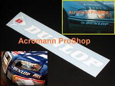 """2x 6""""15.2cm DUNLOP decal sticker tire tyre Le Mans DTM Kart Maxx SP moto gp audi"""