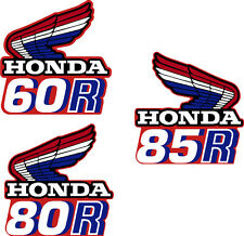 HONDA TANK DECALS REPRO Z50R CR60R CR85R Custom Made  or make per order?