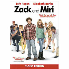 Zack and Miri Make a Porno DVD 2-Disc Set Seth Rogen Elizabeth Banks