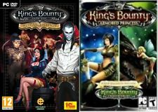 kings bounty dark side premium edition&armored princess&crossworlds   new&sealed