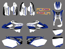 TEAM GRAPHICS BACKGROUNDS DECALS FitYAMAHA WR250F WR450F WRF 250 450 05 2006