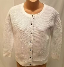 Marc By Marc Jacobs Cardigan Womens Size S Long Sleeve Button Front White
