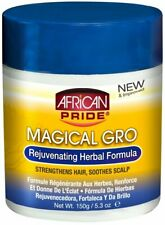 African Pride Magical Gro Rejuvenating Herbal Formula Oil Dry Hair 5.3 Ounce