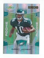 2008 Select Scorecard #369 DeSean Jackson Rookie Eagles /100