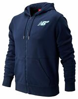 New Balance Men's Numeric Full Zip Hoodie Navy