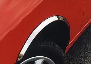 CHEVROLET DAEWOO MATIZ wheel arch trims 4pcs CHROME wing styling kit 05-09