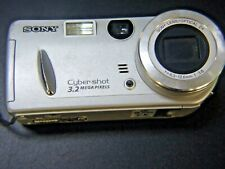 Sony DSC-P52 Cyber-shot 2MP Digital Camera with 3x Optical Zoom (Silver)