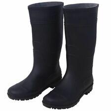vidaXL Regenlaarzen Maat 39 Zwart Zwarte Regen Laars Laarzen Wellington's Boot