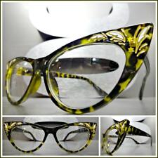Classy Elegant Retro Cat Eye Style Clear Lens EYE GLASSES Tortoise Fashion Frame