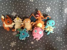 """Pokemon Vintage 90's Beanie Soft toy collection 5"""" - 8"""" Tall"""