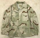 U.S. Air Force USAF Sr. Airman Desert Camouflage DCU Top - Small Regular