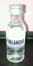 Bottiglia Mignon Da Collezione Vodka Finlandia Vodka Of Finland 5 CL  40 % Vol.
