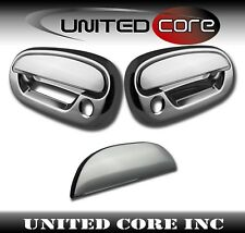 97-03 Ford F150 F-150 Chrome Door Handle Cover Chrome Tailgate Handle Lever