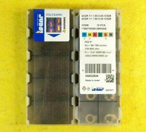 Iscar GIQR 11-1.50-0.05 IC528; 10 inserts/box