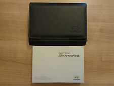 Hyundai Santa Fe Owners Handbook/Manual and Wallet 12-17