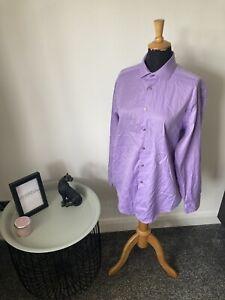 "Men's Calvin Klein long sleeved shirt Size 16.5"" Collar Slim Fit Non Iron"
