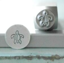 SUPPLY GUY 7mm Sea Turtle Metal Punch Design Stamp SGCH-73