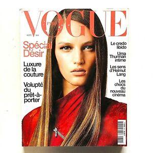Vogue Paris Francia n. 810 septembre 2000 Vivien Solari Couture Cinema Asiatico
