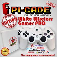 Limited Ed WHITE RetroPie Wireless KODI SNES PSX N64 MAME Raspberry Pi3 32GB