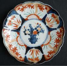 Assiette en porcelaine IMARI Chine Japon 19e siècle 19th century